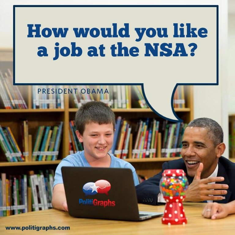 NSA's PrISM program mining data from Google, Facebook, Apple, Microsoft and more.
