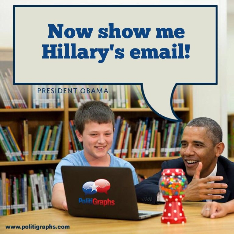 Now show me Hillary's email